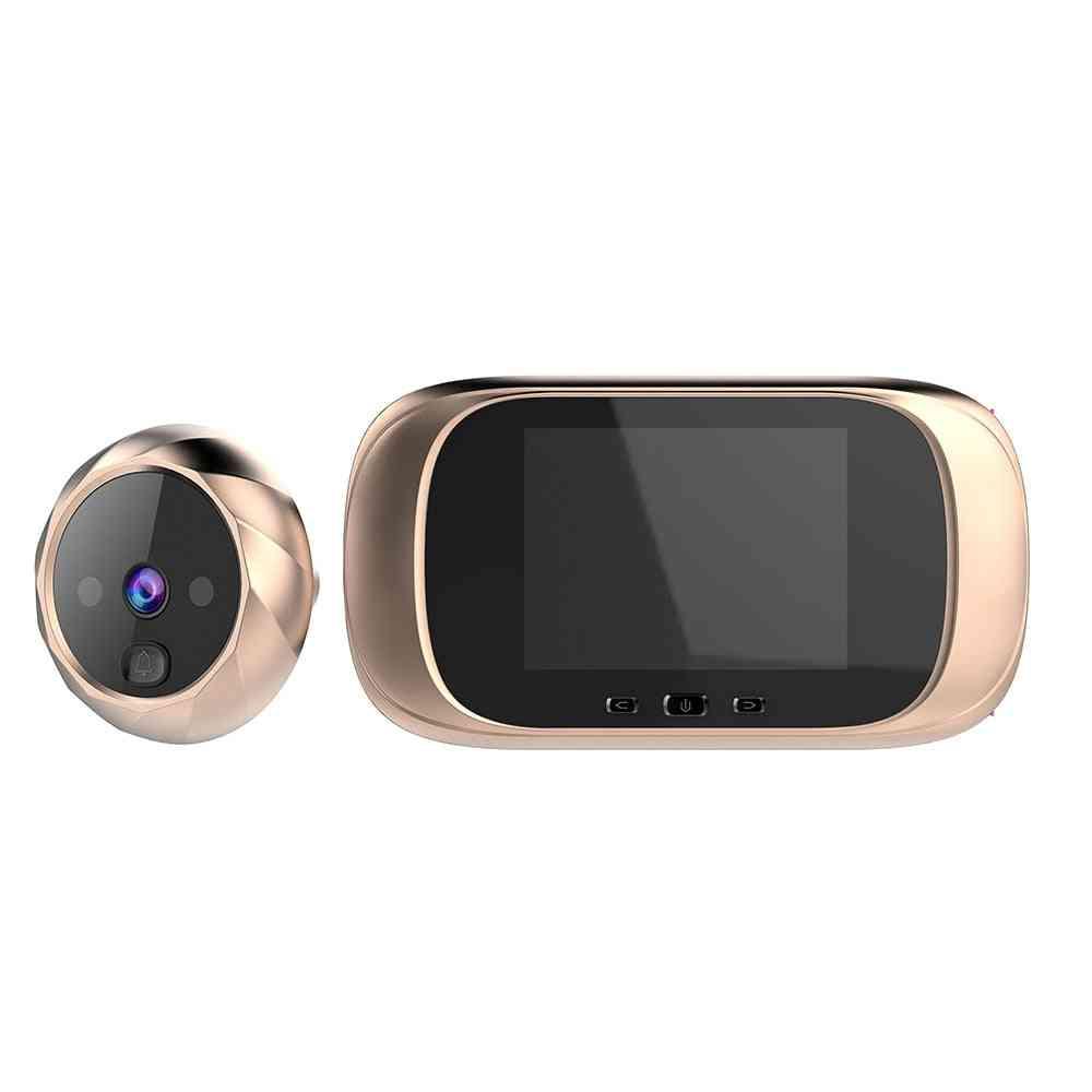 Digital Door Viewer, Peephole Camera & Lcd Doorbell