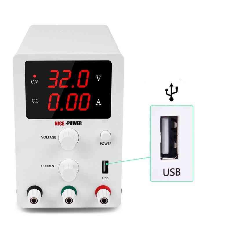Power Supply, Digital Display Adjustable Voltage Regulator
