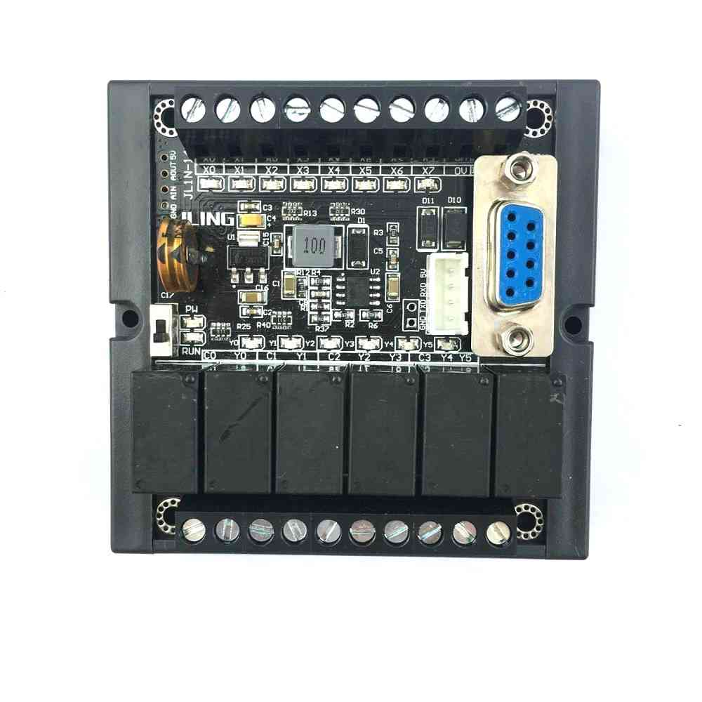 Plc Fx1n-14mr  Board Relay Module Delay - Plc Programmable Logic Controller