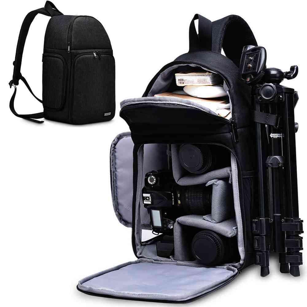 Waterproof Nylon Shockproof - Scratch Resistant Camera Backpacks