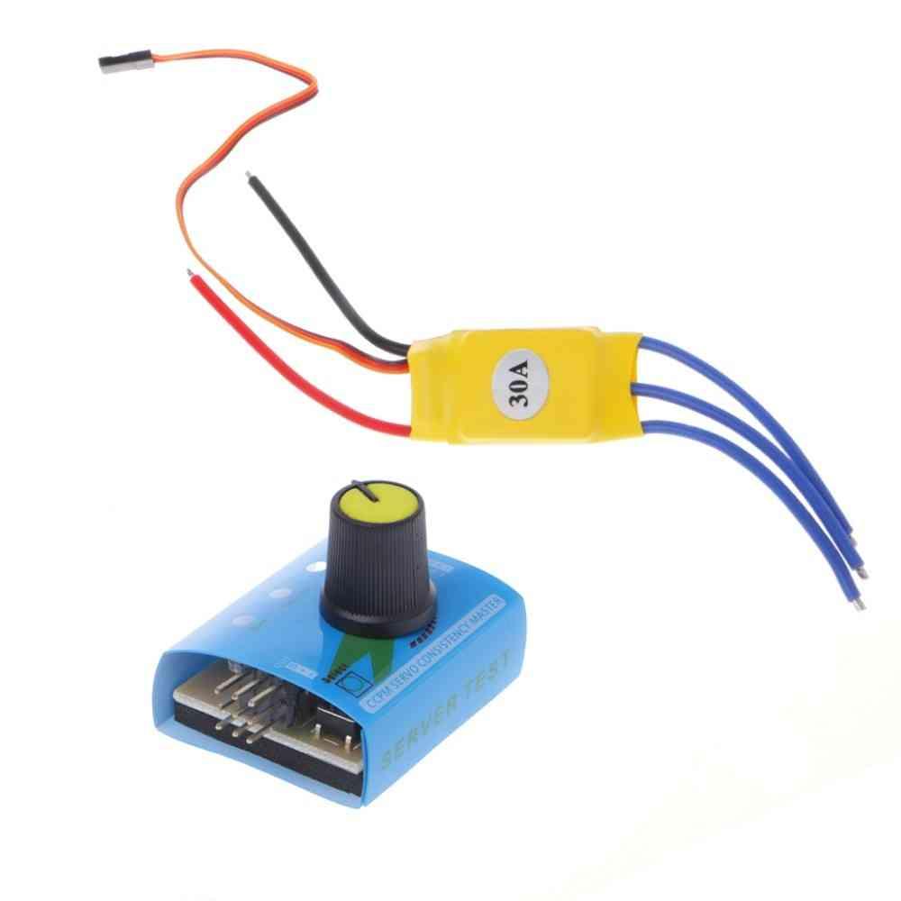 Dc12v 30a High Power Brushless Motor Speed Controller, Dc 3-phase Regulator Pwm