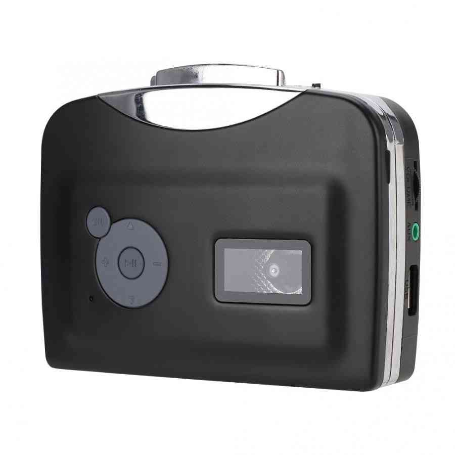 Usb Cassette Signal Converter Tape To Mp3 - Recordings Music