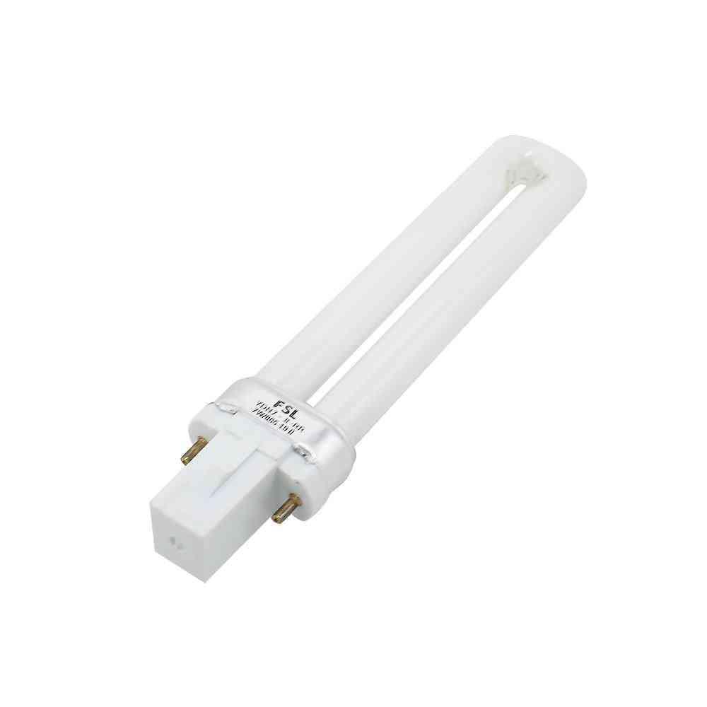 G23 Fluorescent Lamp Tube - 7w Desk Light Bulb