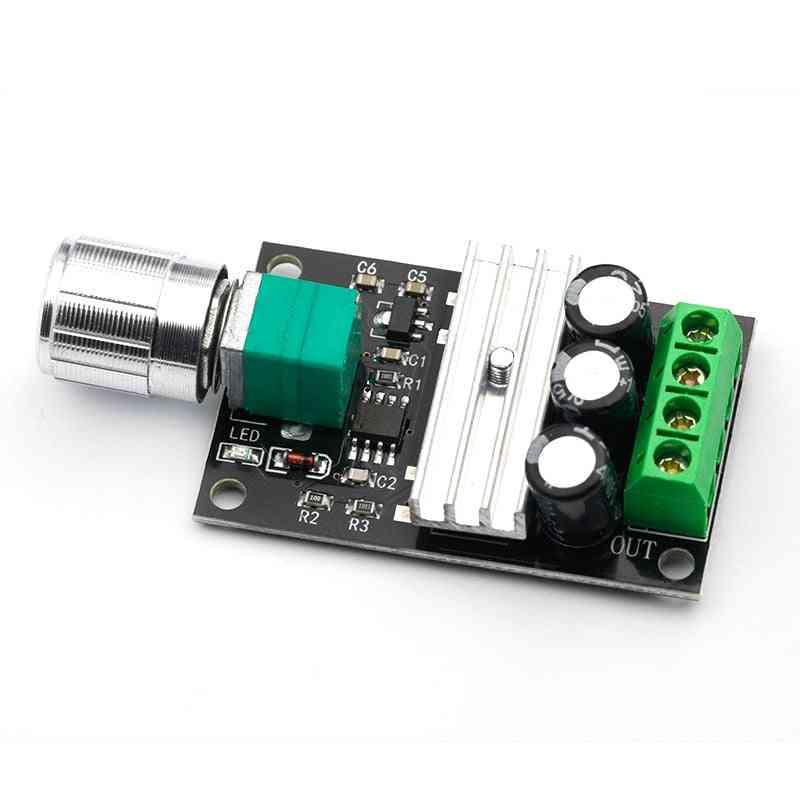 1pcs Dc 6v/12v/24v/28vdc, 3a 80w Pwm Motor Speed Controller Regulator