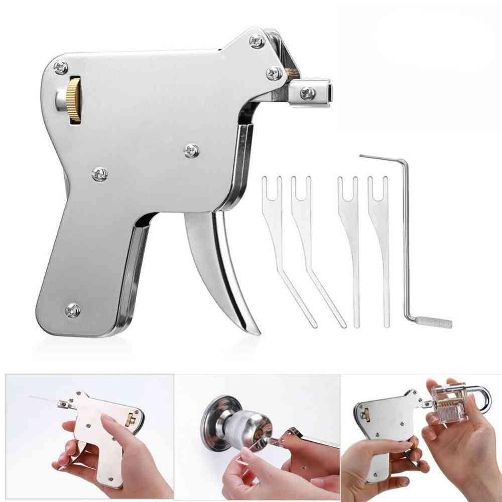 Locksmith Repair Tool - Lock Gun With Broken Key