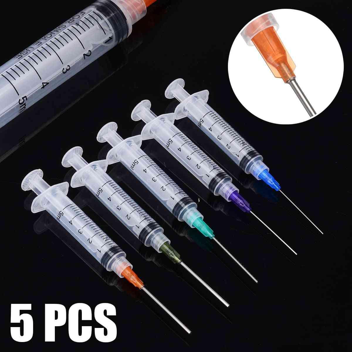 5ml Capacity Syringe -crimp Sealed-blunt Needle Tips