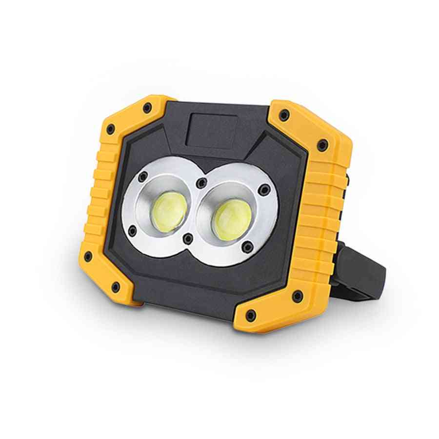 20w Cob Work Lamp Led Portable Lantern Waterproof With 3-mode