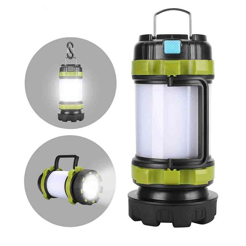 Portable Led - Usb Rechargeable Waterproof Search Light