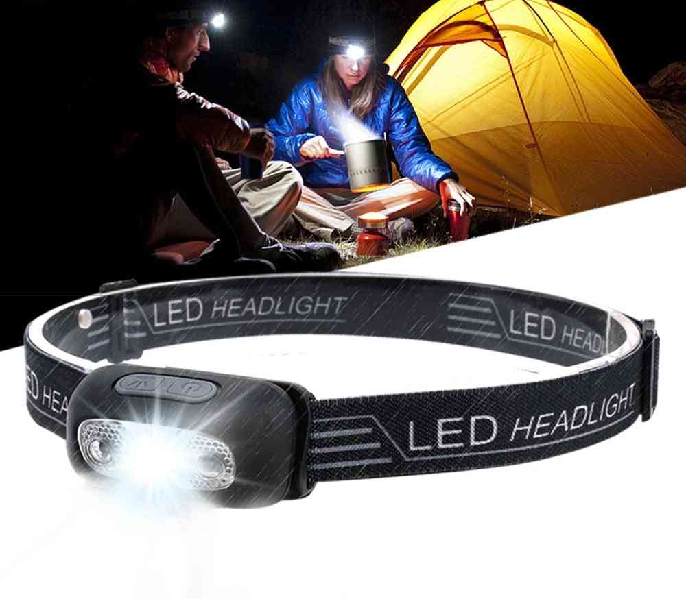 Mini Rechargeable Led - Headlight With Usb