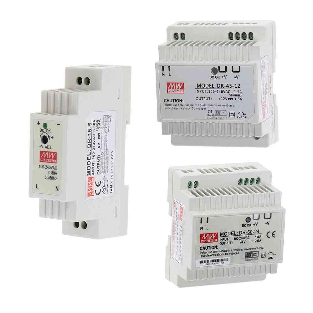 Single Output 5v/12v/15v/24v- Industrial Din Rail Switching Power Supply