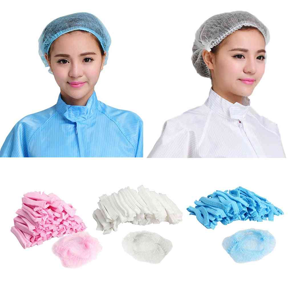 Disposable Hair Caps - Nets Tanning Catering Shower Covers