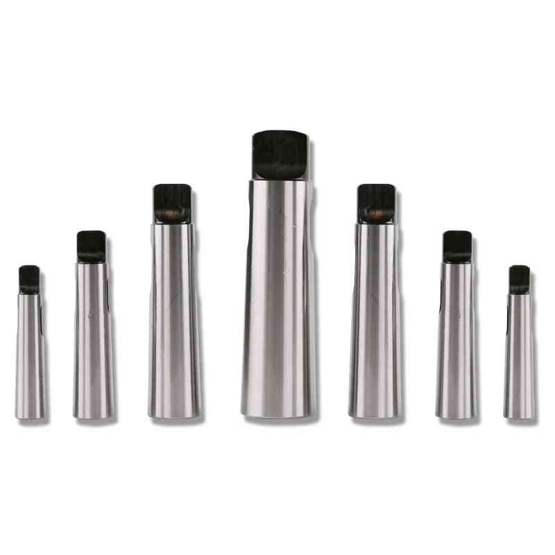 1pcs Of Morse Taper Reducing Sleeve For Drill Chuck -flat Head