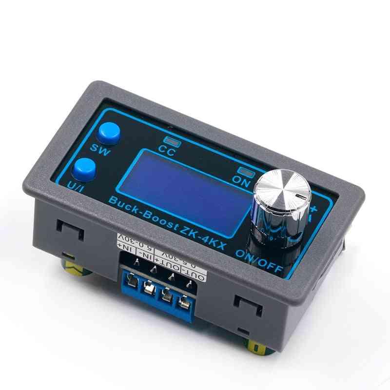 Dc Buck Boost Converter, Cc Cv 0.5-30v 4a Adjustable Regulated Power Supply