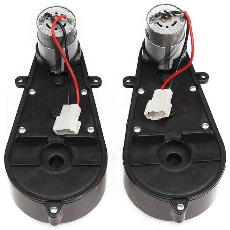 12v Dc Motor With Gear Box For Electric Car