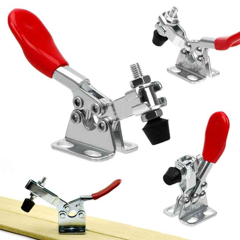 Horizontal Toggle Joiner's Clamp For Wood Working