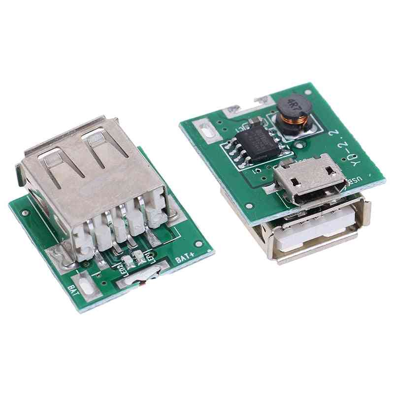 Micro Usb 5v Li-ion 18650 Battery Charger Module Board - Diy Power Bank