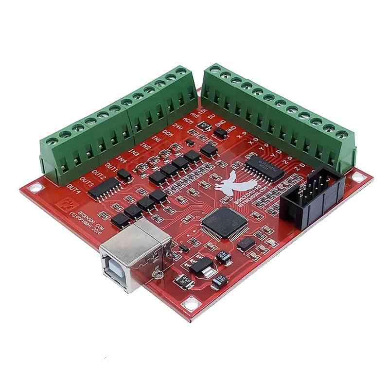 Breakout Board - Cnc Usb Mach3 100khz 4 Axis Interface Driver Motion Controller