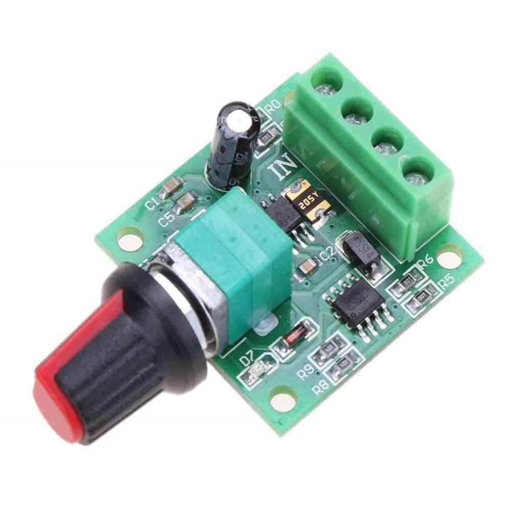 Dc 1.8v/3v/5v/6v/12v 2a Pwm Motor Speed Controller - Low Voltage Motor Speed Control Switch