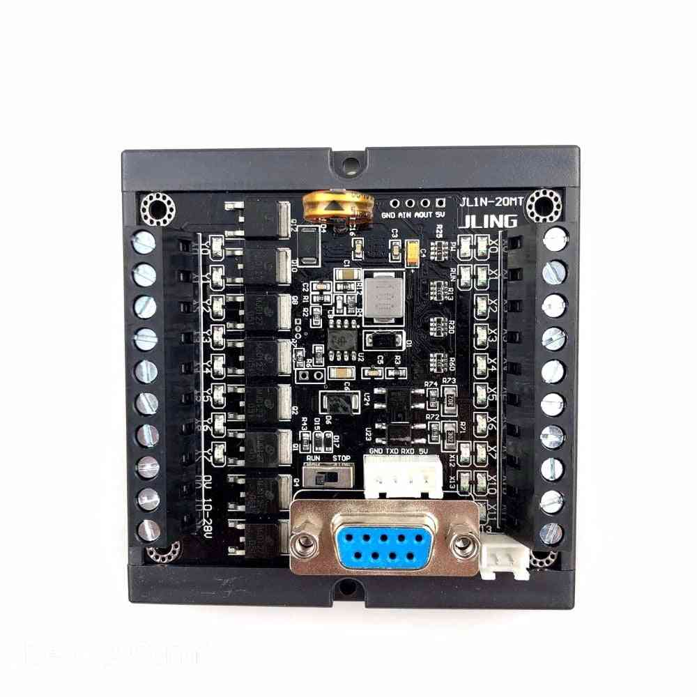 Plc Fx1n-20mt Rail Mounting With The Same Point Volume Plc Programmable Logic Controller - Input 12 & Output 8 Points