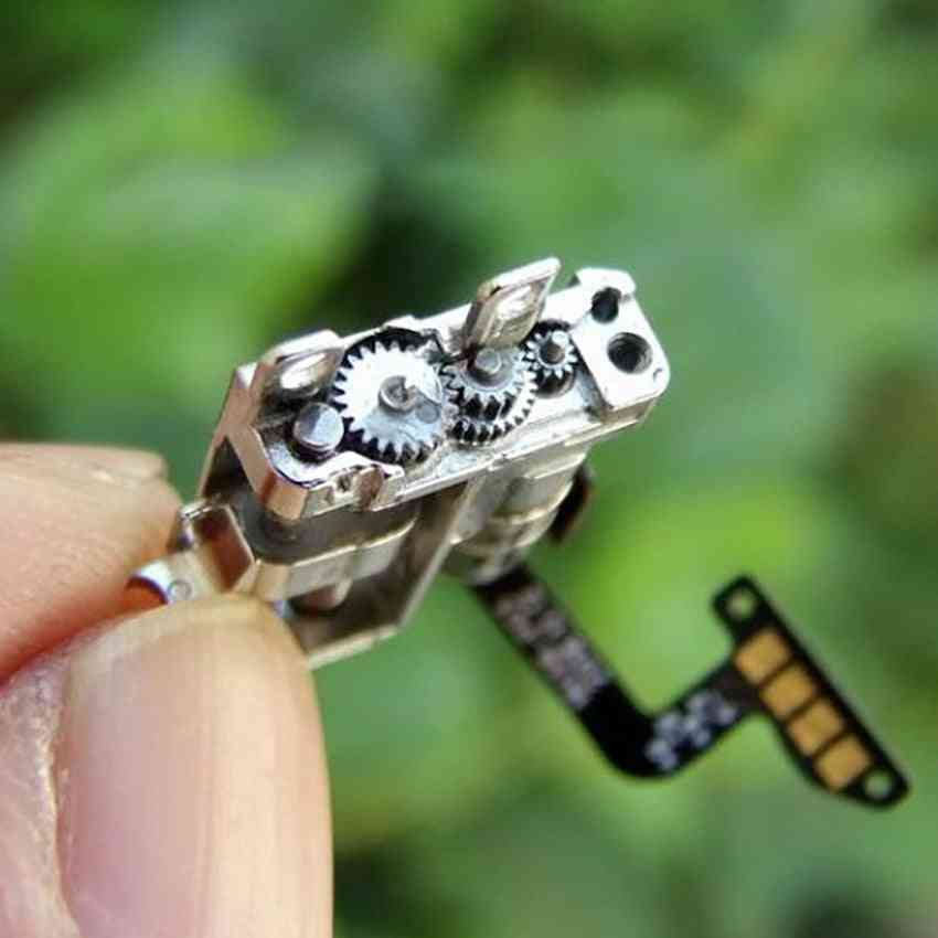 Mini Two-phase, Four-wire - 5mm Stepper Motor With Planetary Gearbox