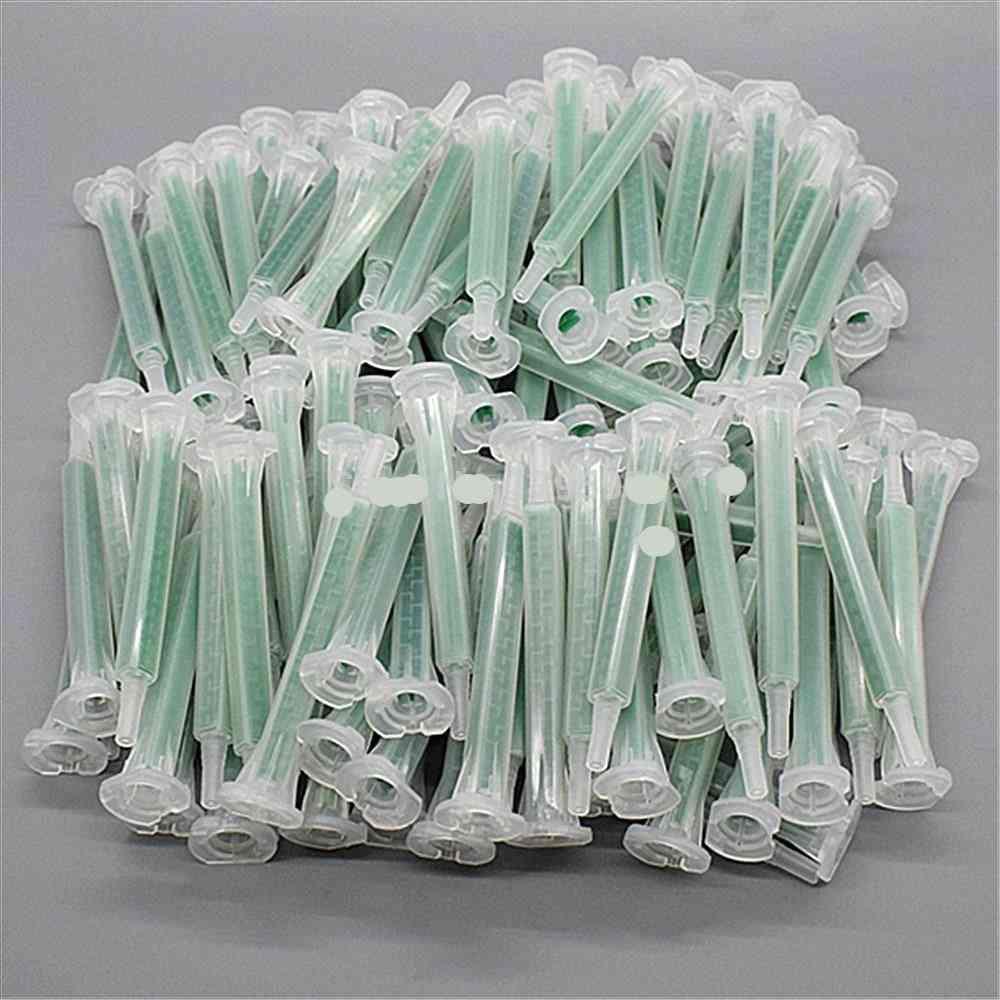 Resin Ab Glue Static Mixer Mixing Tube Nozzle Syringe Set