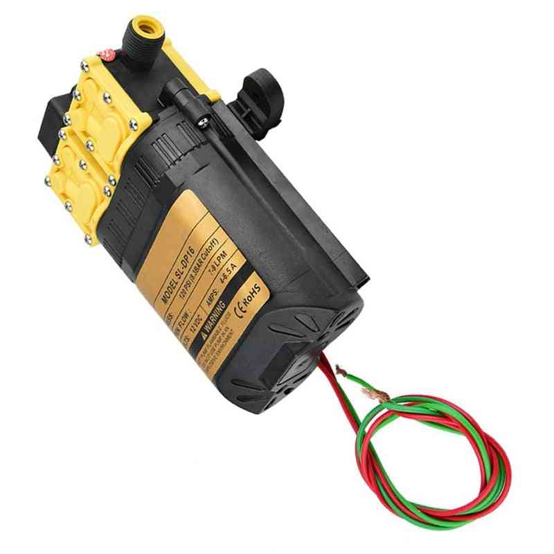 12v High Pressure Agricultural Electric Water Pump Water Sprayer Pump- Mini Motor Water Pump With Adapter