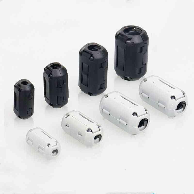 Noise Suppressor Emi Rfi Clip Choke Ferrite Core Cable Filter