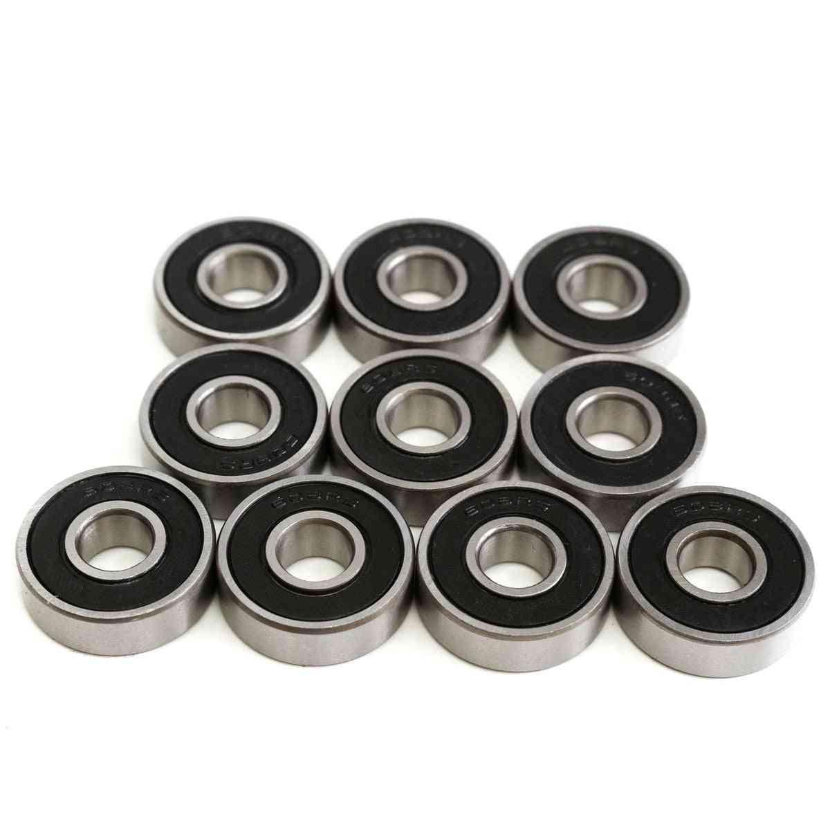 10pcs Abec-5 608 2rs Skateboard Wheels Bearing
