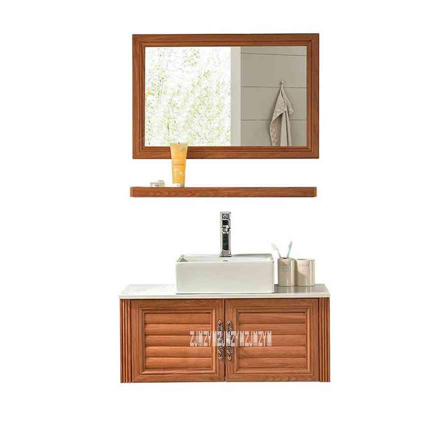 Small Wall-mounted Space, Aluminum, Washroom Ceramics Basin