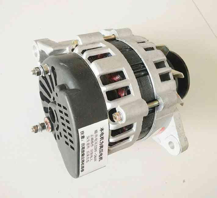 Small Household Ac Alternator, 220v Pulley Wheel