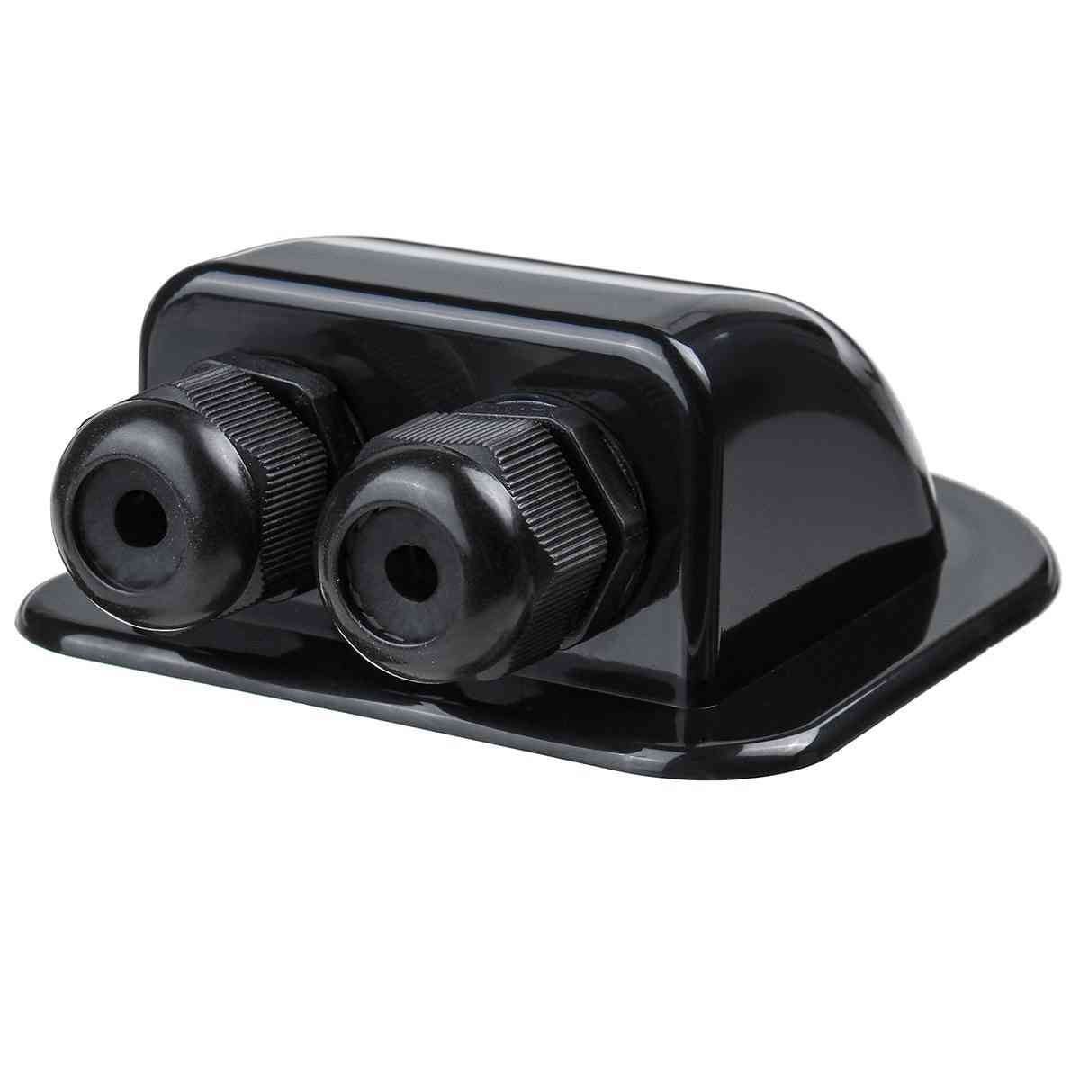 Curved And Waterproof-double Hole Cable Entry Gland Box