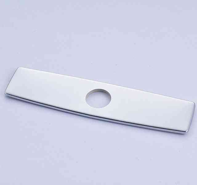 10-inch Chrome Polished Outer Hole Cover Plate For Kitchen Sink