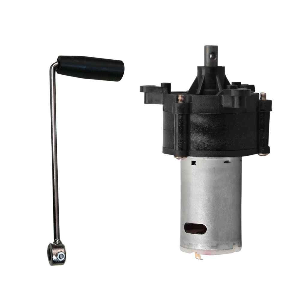 Dc 6v-24v Wind Hydraulic Hand Generator - Miniature Emergency Dynamotor Motor