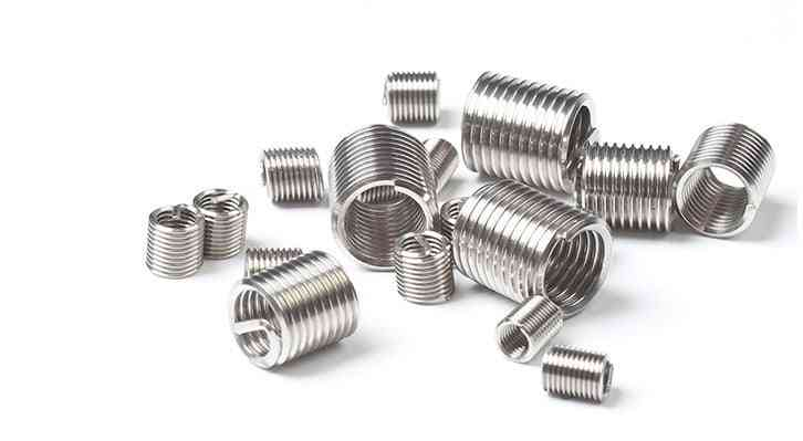 50pcs Of  304 Stainless Steel Wire Thread Insert-m6 Screw