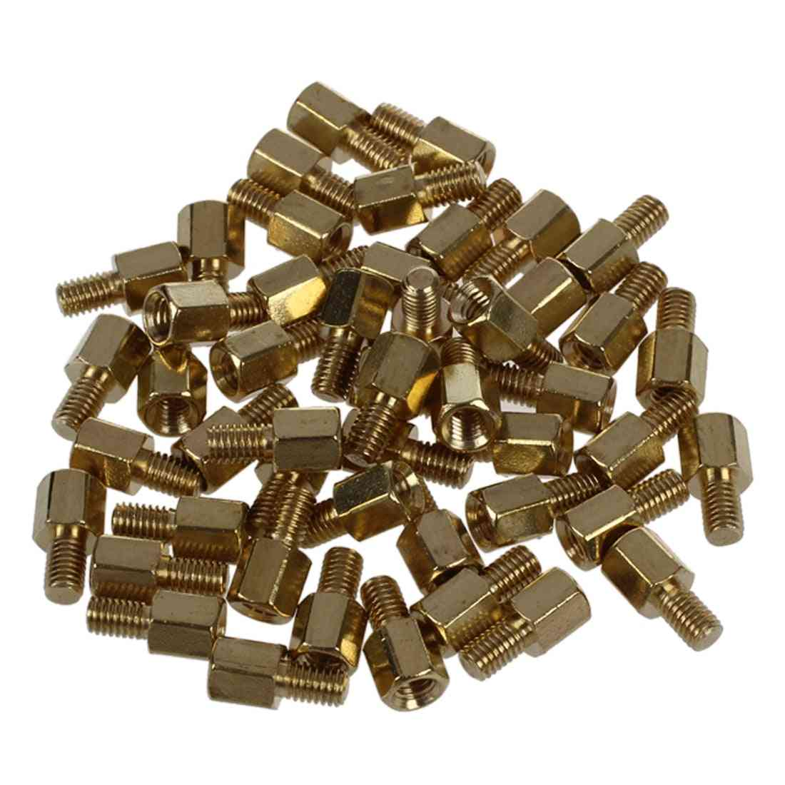 Brass Screw - Pcb Standoffs Hexagonal Spacers, M3 Male & Female