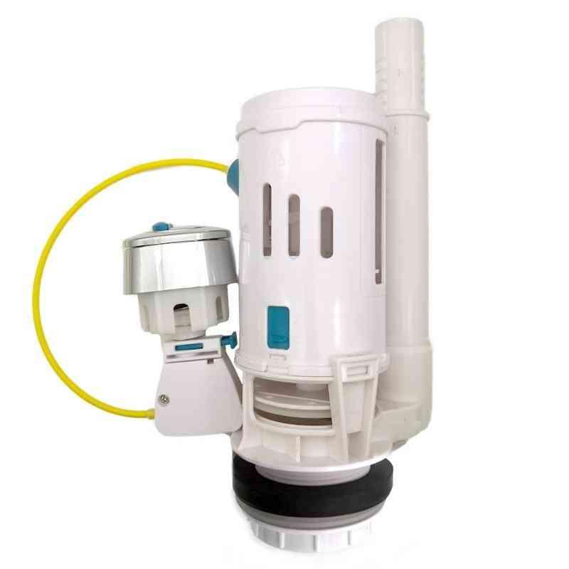 Toilet Tank Line Cable Connected - Dual Flush Push Button Type Repair Kit