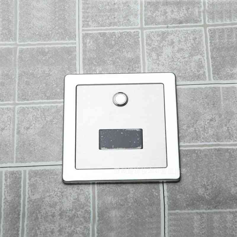 Stainless Steel Material Wall Conceal Mounted With Dc6v Automatic And Manual Both Function Of Urinal Infrared Flush Valve