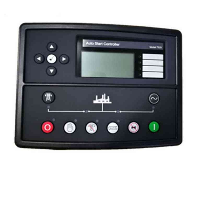 Auto Generator Controller Panel - Electric Automatic Remote Lcd Display Part