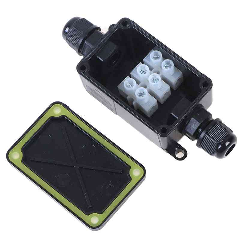 2 Way Waterproof Ip66 Electrical Cable Wire Connector Junction Box
