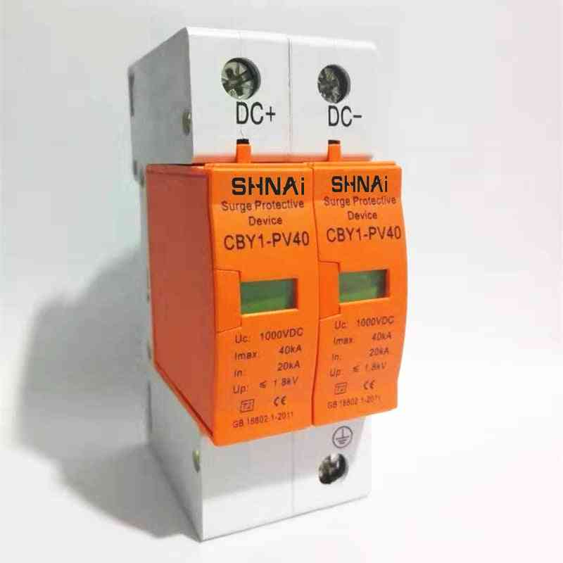 Surge Protective Device - Low-voltage Arrester, House Din Rail 2 Poles Protector