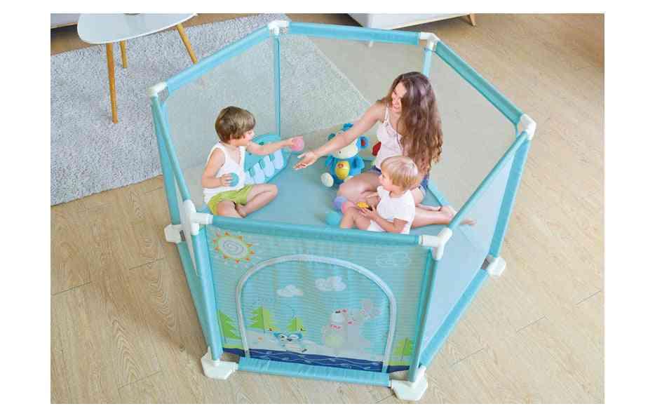 Dry Pool With Balls, Indoor Baby Playpen