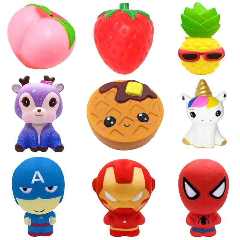 Squishy Jumbo, Cute Slow Rising Toy For Kids - Anti Stress Decompression Figures