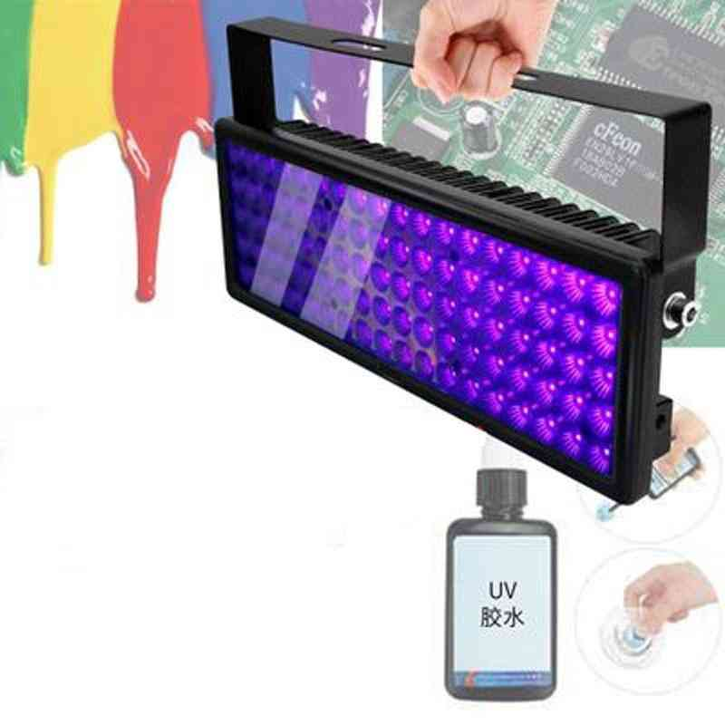 Portable Uv Curing Lamp - Ink Varnish Paint Adhesive Fast Light