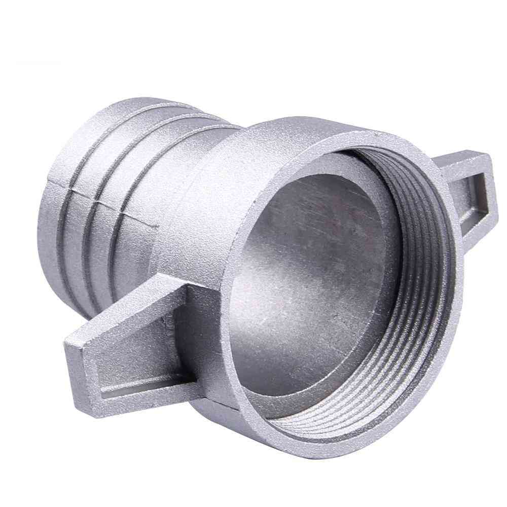Gasoline Water Pumps Fittings, 2 Inch Aluminum Pipe Connecting Wrench With Rubber Gasket