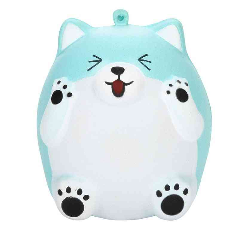 Kawaii Smile Bear Squeeze Slow Rising Cream Scented Stress Reliever For Child Kid Baby