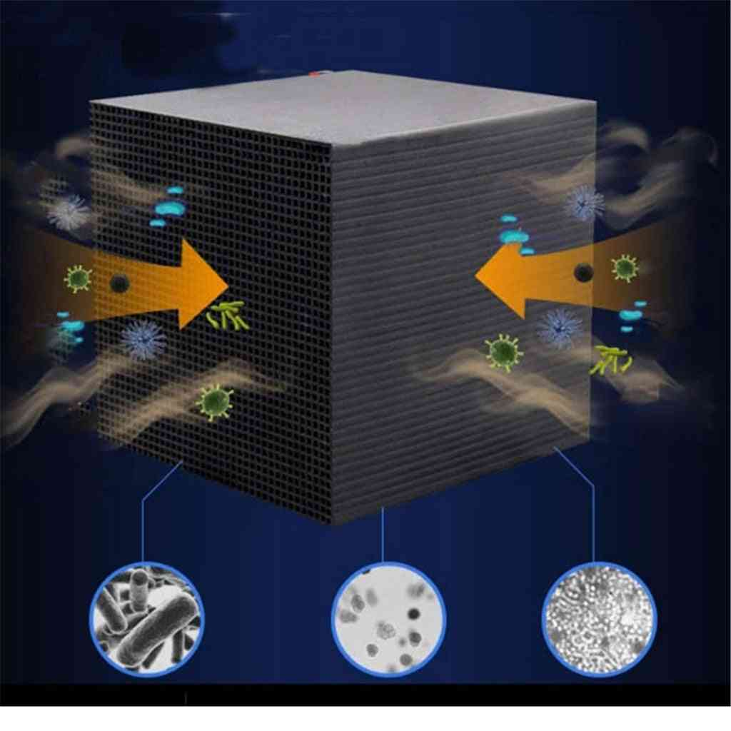 Eco-aquarium Water Purifier Cube With 10x10cm  And Ultra Activated Carbon