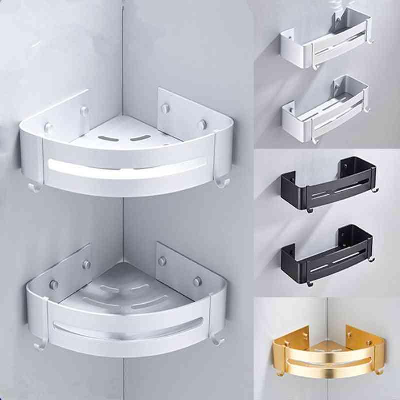 Wall Mount Toilet/bathroom Storage Rack With Drian Hole Design