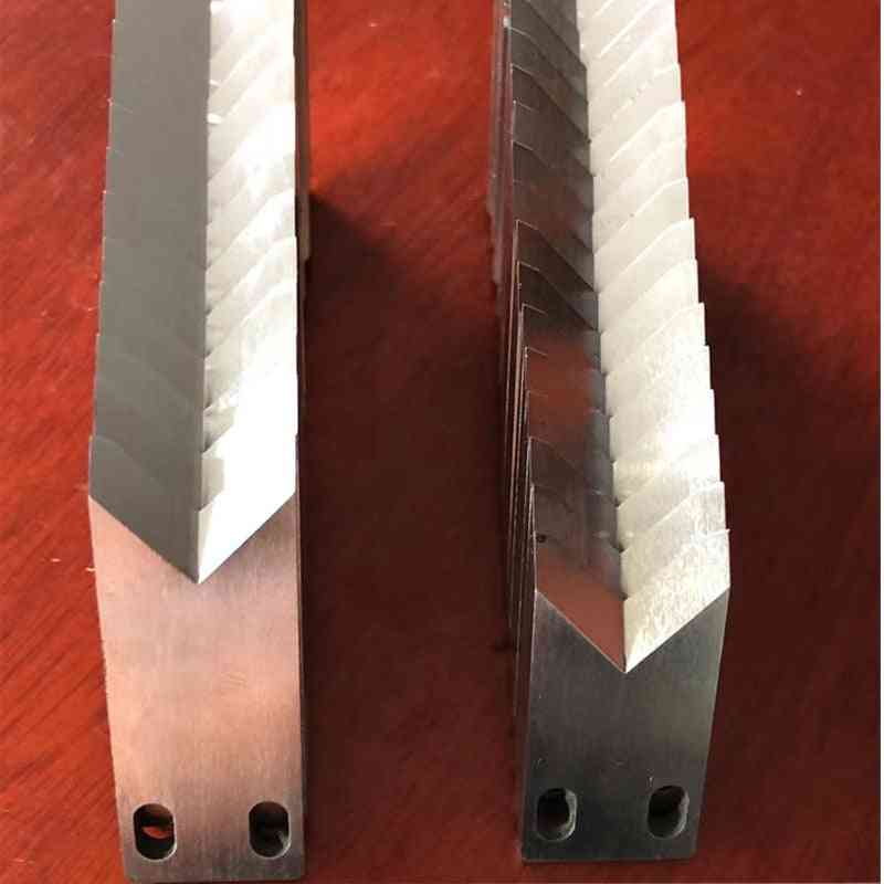Wire Stripping Steel Knife Blade For Swt508 Model Wire Peeling Cutting Machine