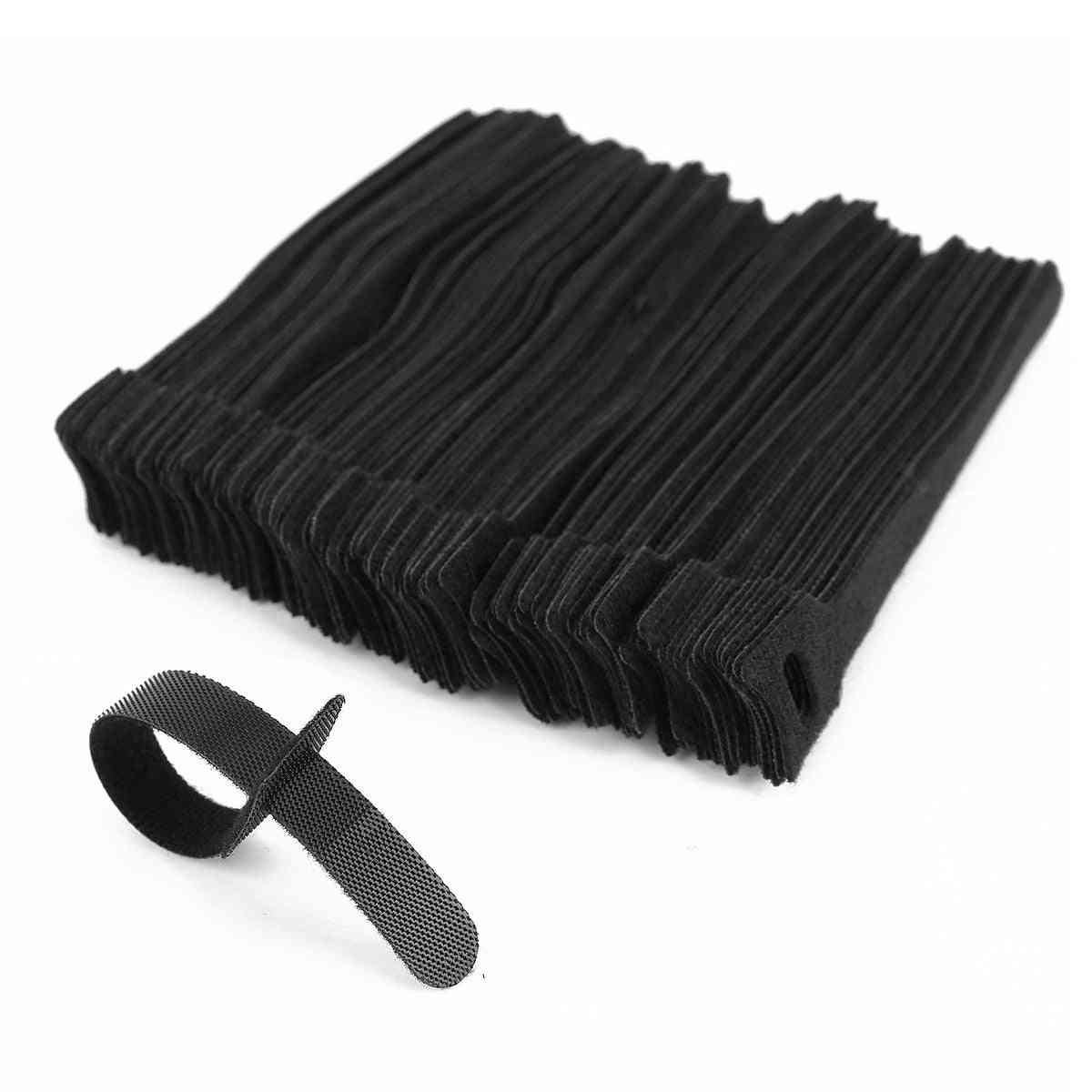 12*150 Mm T-type Velcro Cable Tie Wire Storage