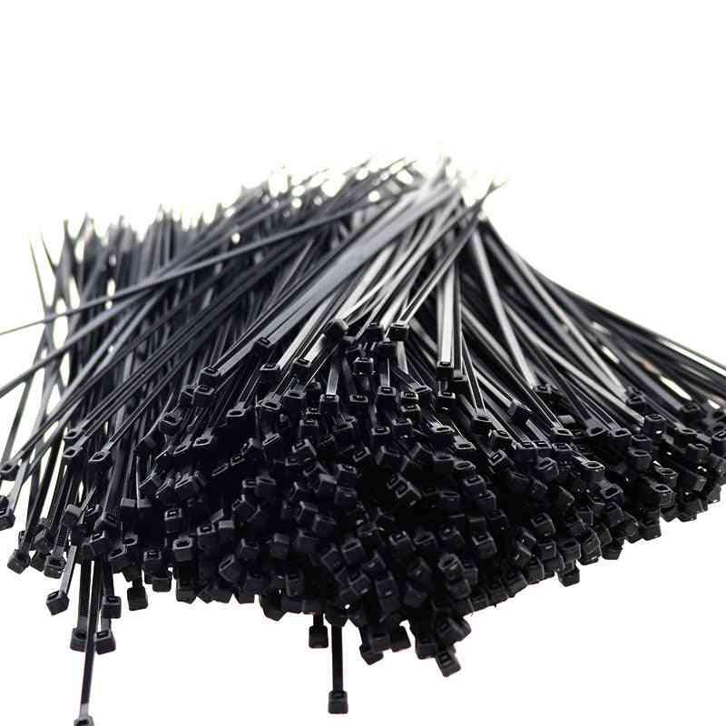 100pcs Nylon Cable Self Lock Zip Ties